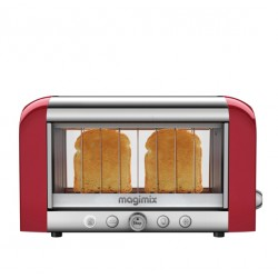 Broodrooster Le Toaster Vision Rood - Magimix