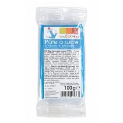 Suikerpasta Blauw 100g - Scrapcooking