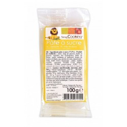 Pâte à Sucre Jaune 100g - Scrapcooking
