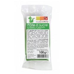 Pâte à Sucre Vert Foncé 100g - Scrapcooking