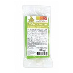 Suikerpasta Licht Groen 100g - Scrapcooking