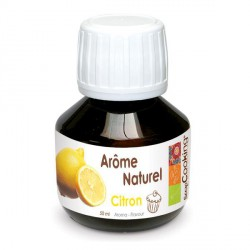 Arome Naturel Citron 50 ml - Scrapcooking