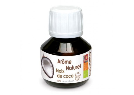 Arome Naturel Noix de Coco 50 ml  - Scrapcooking