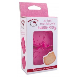 Hello Kitty Je Fais Mes Biscuits 4 stk - Scrapcooking