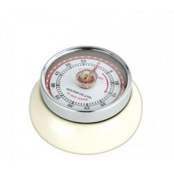 Minuterie Speed Kitchen Timer Blanc Crème