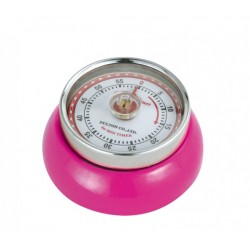 Minuterie Speed Kitchen Timer Rose Magenta - Zassenhaus