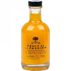 Vinaigre Pulpe de Fruit de la Passion 200 ml - A l'Olivier