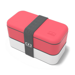 Original Bento LunchBox Made in France Rood Corail - MonBento