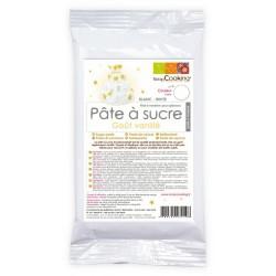 Pâte à Sucre Blanche Gout Vanille 500g  - Scrapcooking
