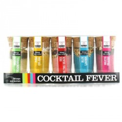 Coffret Cocktail Fever Mélanges pour Cocktails 5 pcs  - Quai Sud