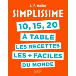 Simplissime 10, 15, 20 à Table - Hachette