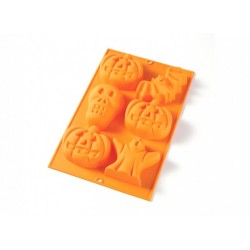 Kit Halloween Moule Silicone 6 Figures - Lékué