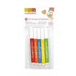 Set 5 Stiften Alimentaires - Scrapcooking