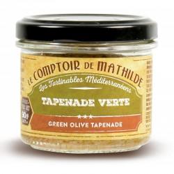 Groen Tapenade 90 g  - Comptoir de Mathilde