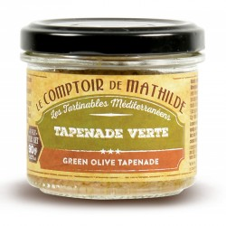 Tapenade Verte 90 g  - Comptoir de Mathilde