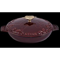 Plat à Servir en Fonte 20 cm Rouge Grenadine Tomorrowland  - Staub
