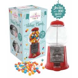 Distributeur de Bonbons Vintage Candy avec Bubble Gum - Scrapcooking
