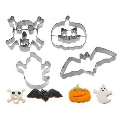 Emportes-pièces Halloween 4 pcs - Westmark