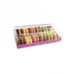 Macaron Verpakking Roze  - Gatodéco