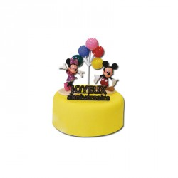 Kit Mickey en Minnie Cake Versiering - Gatodéco