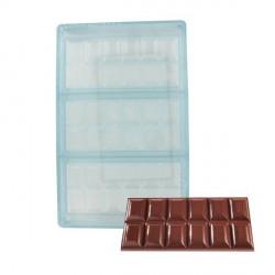 Moule Tablette de Chocolat 15 x 7 cm  - Technicake