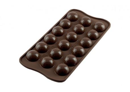Chocolade Vorm Easy Choc Voetbal - Silikomart