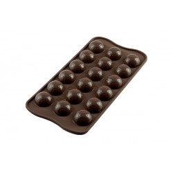 Moule Chocolat Easy Choc Ballon de Football  - Silikomart