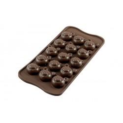 Moule Chocolat Easy Choc Cochon  - Silikomart