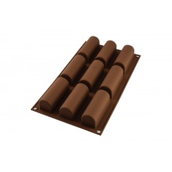 Moule Chocolat Easy Choc Mini Bûche  - Silikomart