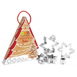 Kit Christmas Tree Koekje Kerstboom - Scrapcooking