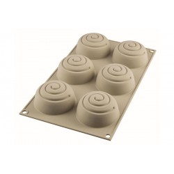3D Bakvorm Mini Girotondo Rond  - Silikomart