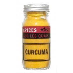 Curcuma en poudre 60g - Sur les Quais