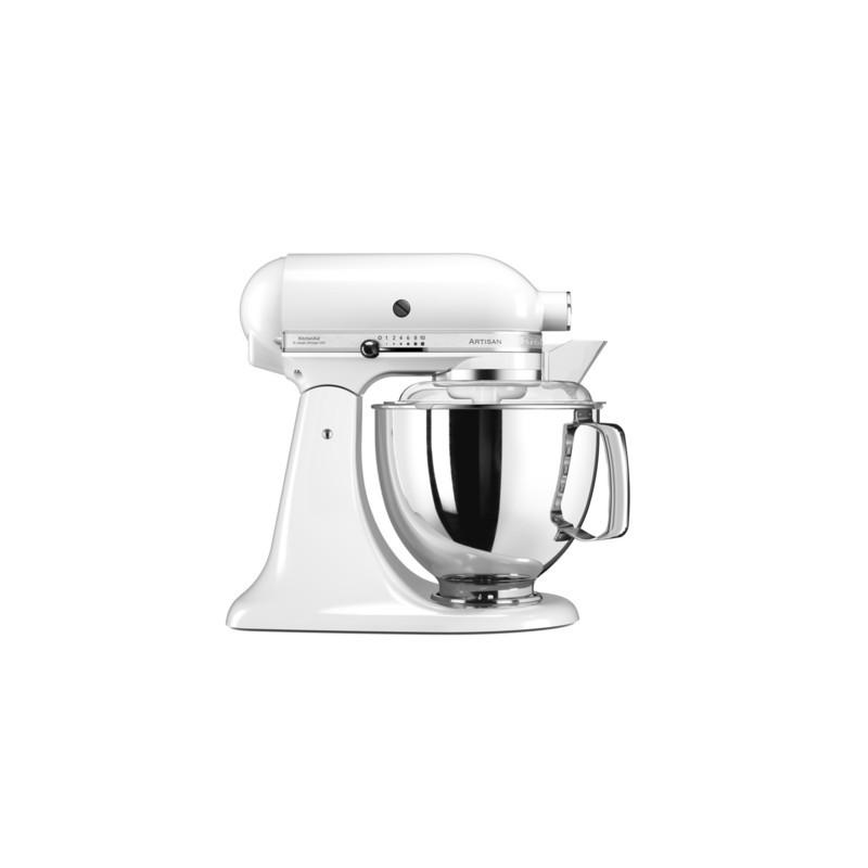 kitchenaid robot artisan el gance 5ksm175 blanc les. Black Bedroom Furniture Sets. Home Design Ideas