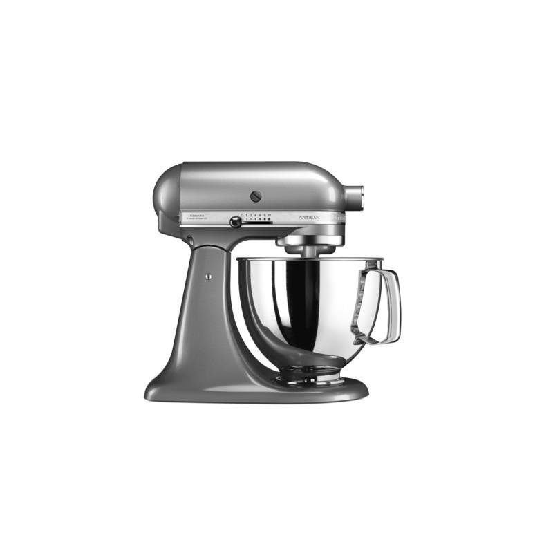 kitchenaid robot artisan original 5ksm125 contour silver les secrets du chef. Black Bedroom Furniture Sets. Home Design Ideas