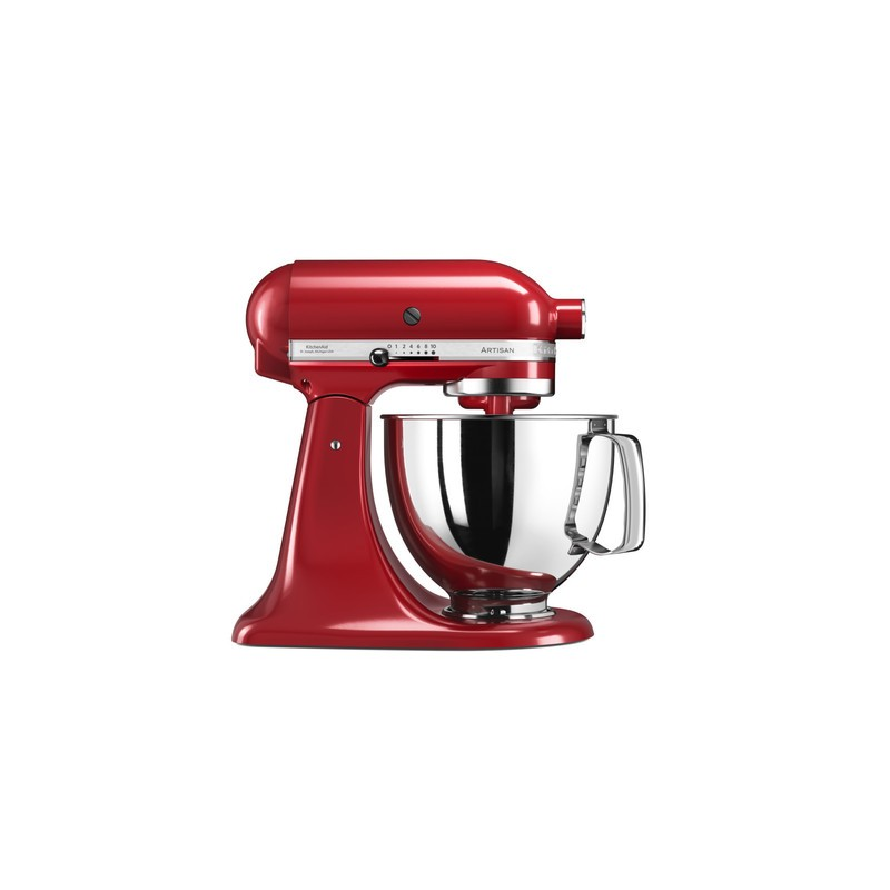 kitchenaid robot artisan original 5ksm125 rouge empire les secrets du chef. Black Bedroom Furniture Sets. Home Design Ideas