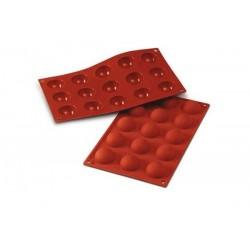 Siliconen Bakvorm 15 Halve Bol  - Silikomart