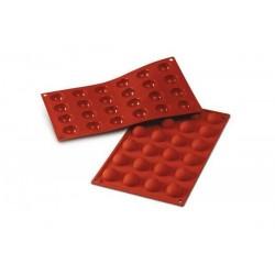 Siliconen Bakvorm 24 Halve Bol - Silikomart