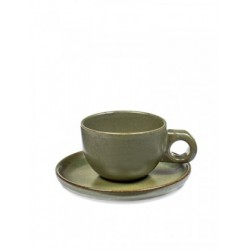 Sergio Herman Surface Cafe Lungo Tas met Ondertas Camogreen - Serax