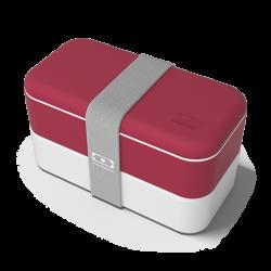 Original Boite Bento Made in France Rouge Marsala Edition Limitée  - MonBento