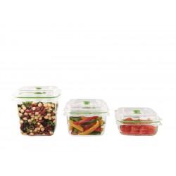 Fresh Set de 3 Boites de Conservation Sous Vide - FoodSaver