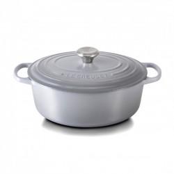 Ovale Braad-/ stoofpan 4.7 l Grijs Mist Grey (29 cm)  - Le Creuset