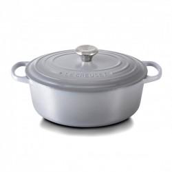 Ovale Braad-/ stoofpan 6.3 l Grijs Mist Grey (31 cm)  - Le Creuset