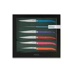 Couteaux à Steak Evolution Eté 6 pces - Tarrerias-Bonjean
