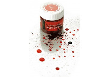 colorant rouge coquelicot 10gr - Colorant Rouge Alimentaire