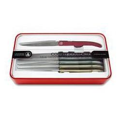 Couteaux à Steak Evolution Hiver 6 pcs  - Tarrerias-Bonjean