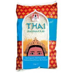 Thai Jasmin Rice Riz au Jasmin 1kg  - TD
