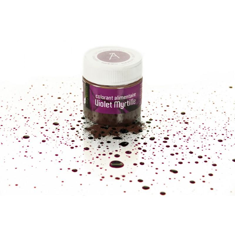 les artistes colorant violet myrtille 10gr les secrets du chef. Black Bedroom Furniture Sets. Home Design Ideas