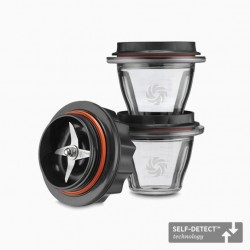 Kommen 225 ml met Blad voor Blender Ascent 2 dlg  - Vitamix