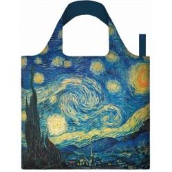 Opvouwbare Herbruikbare Tas Van Gogh The Starry Night - LOQI