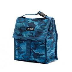 Lunch Bag Réfrigérant Bleu Blue Camo  - Pack It
